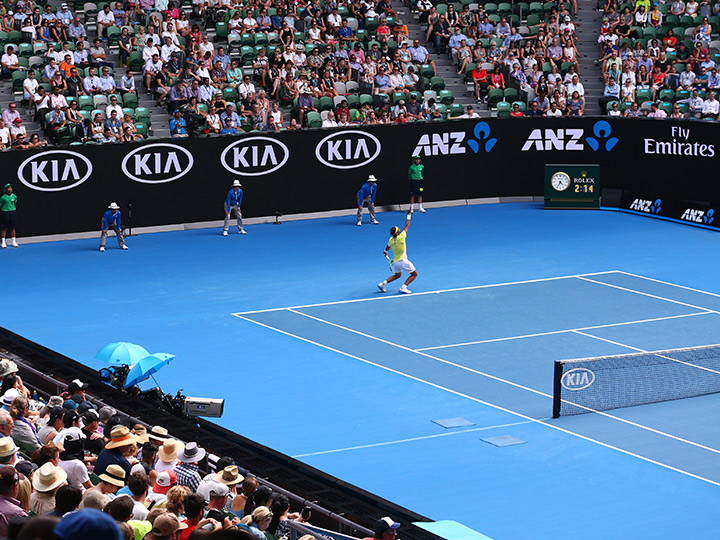 Kia, Major Sponsor all'Australian Open