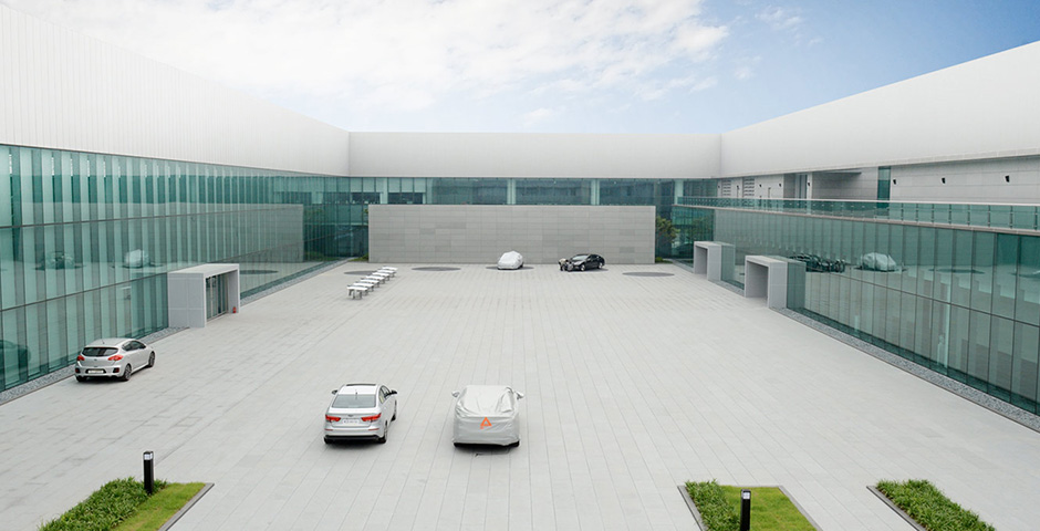 Kia Namyang design center interno