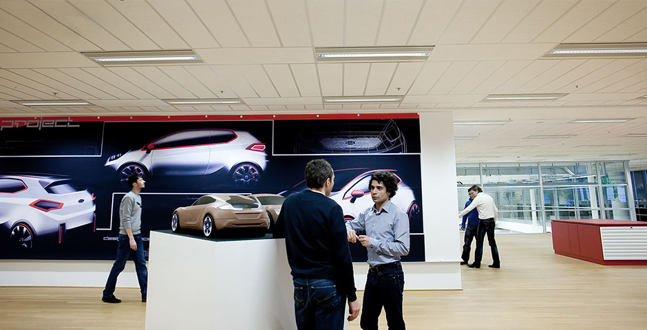Kia Europa Francoforte design center esterno