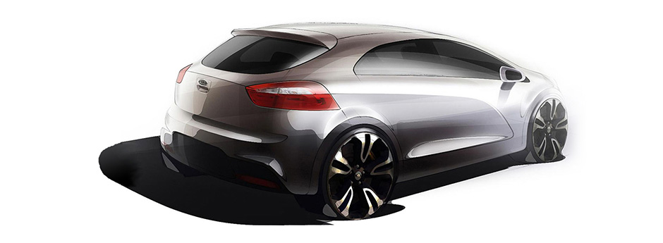 Kia Motors drawing content car design