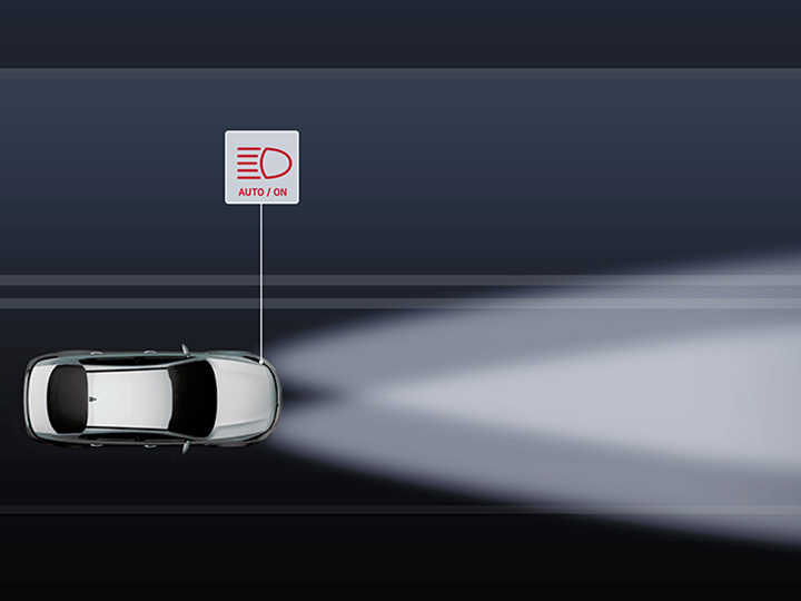 Kia Smart High Beam Assist (SHBA) video