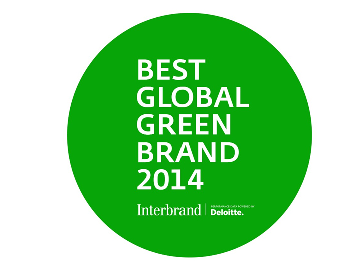 Kia Interbrand ranking 2014 Best Global Green Brand