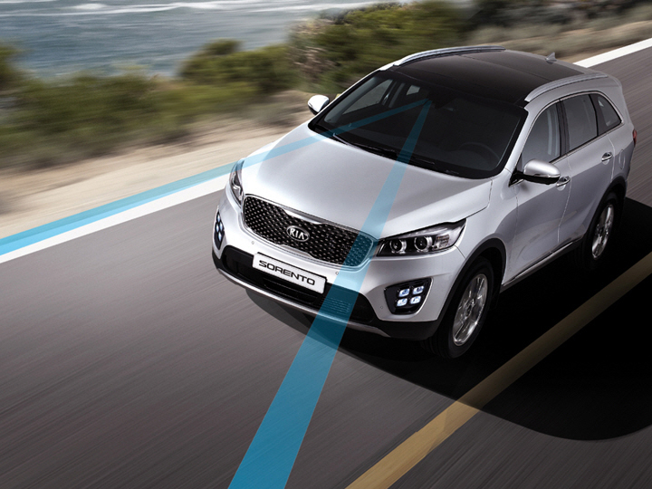 Kia Sorento Lane Departure Warning system