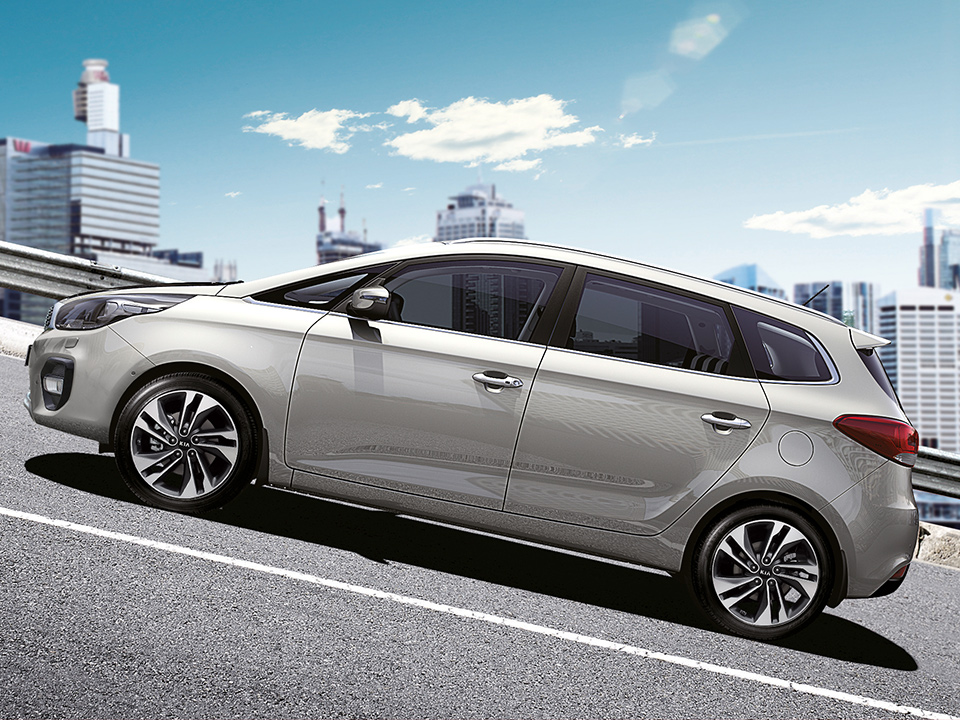 Kia Carens - sicurezza