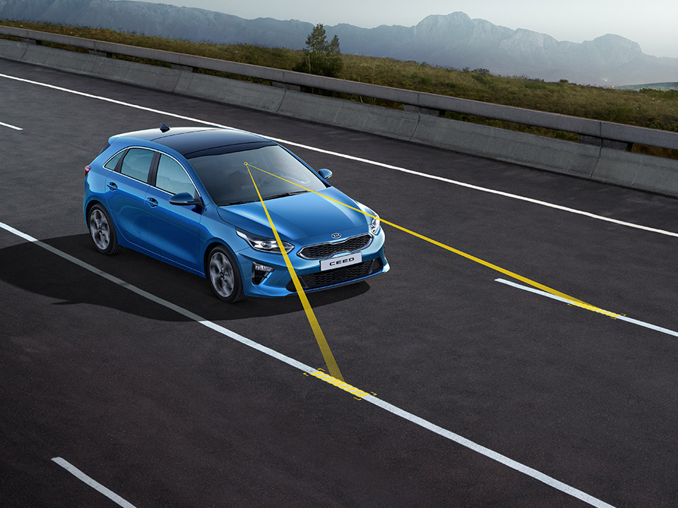 Kia Ceed GT Lane Keeping Assist