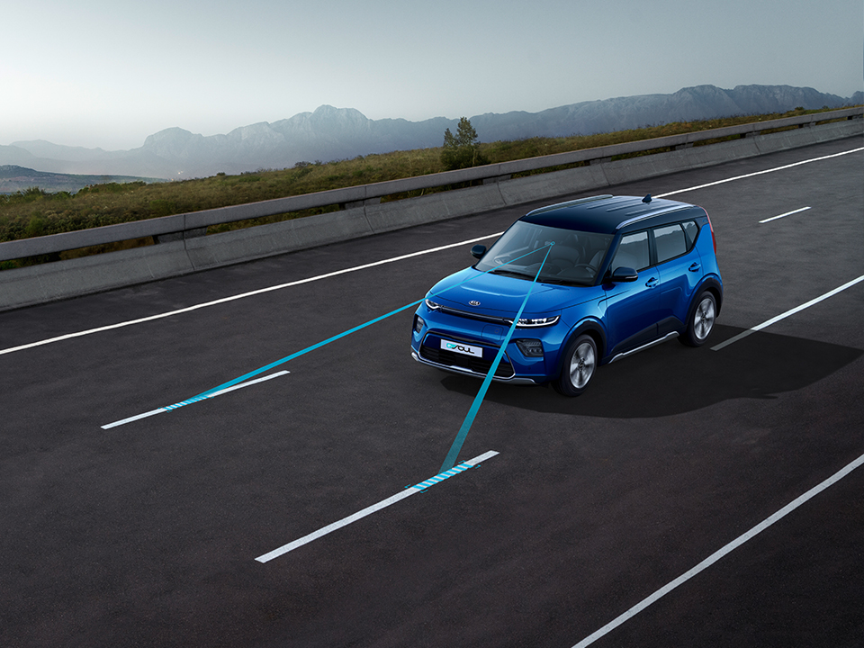 Kia e-Soul - Lane Keep Assist