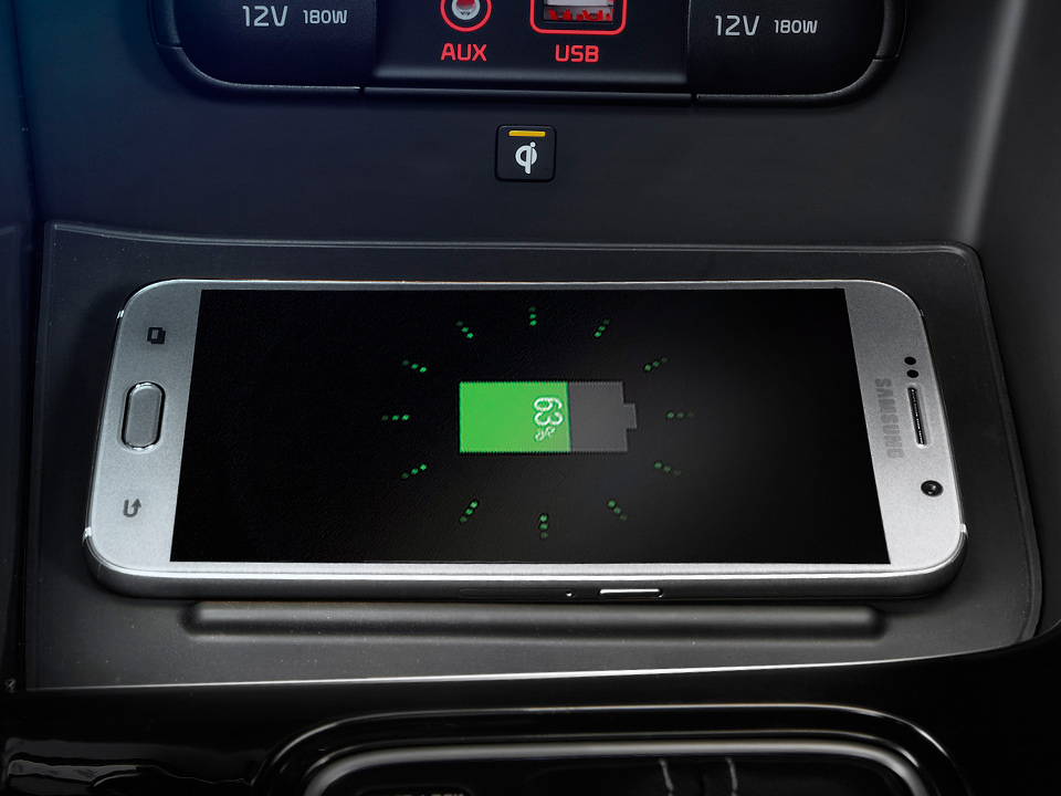 Kia Niro - ricarica telefono wireless