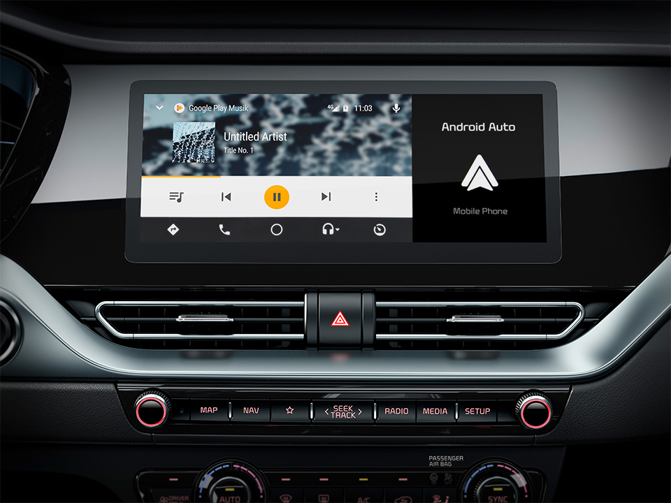 Nuova Kia Niro con Kia connected services