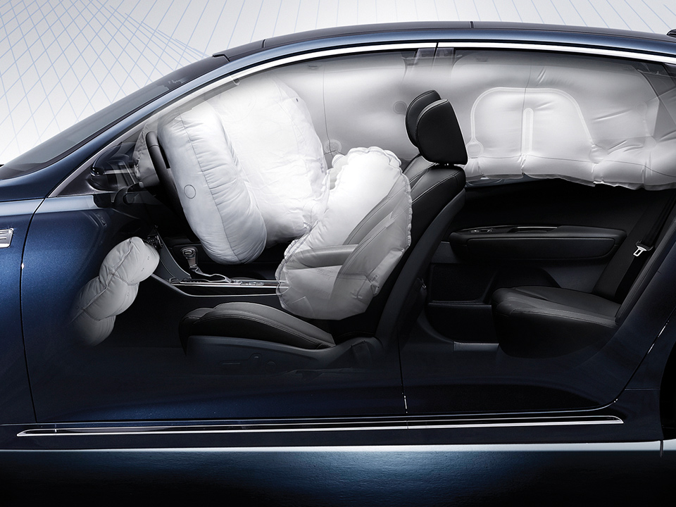 Kia Optima Plug-in Hybrid - airbag
