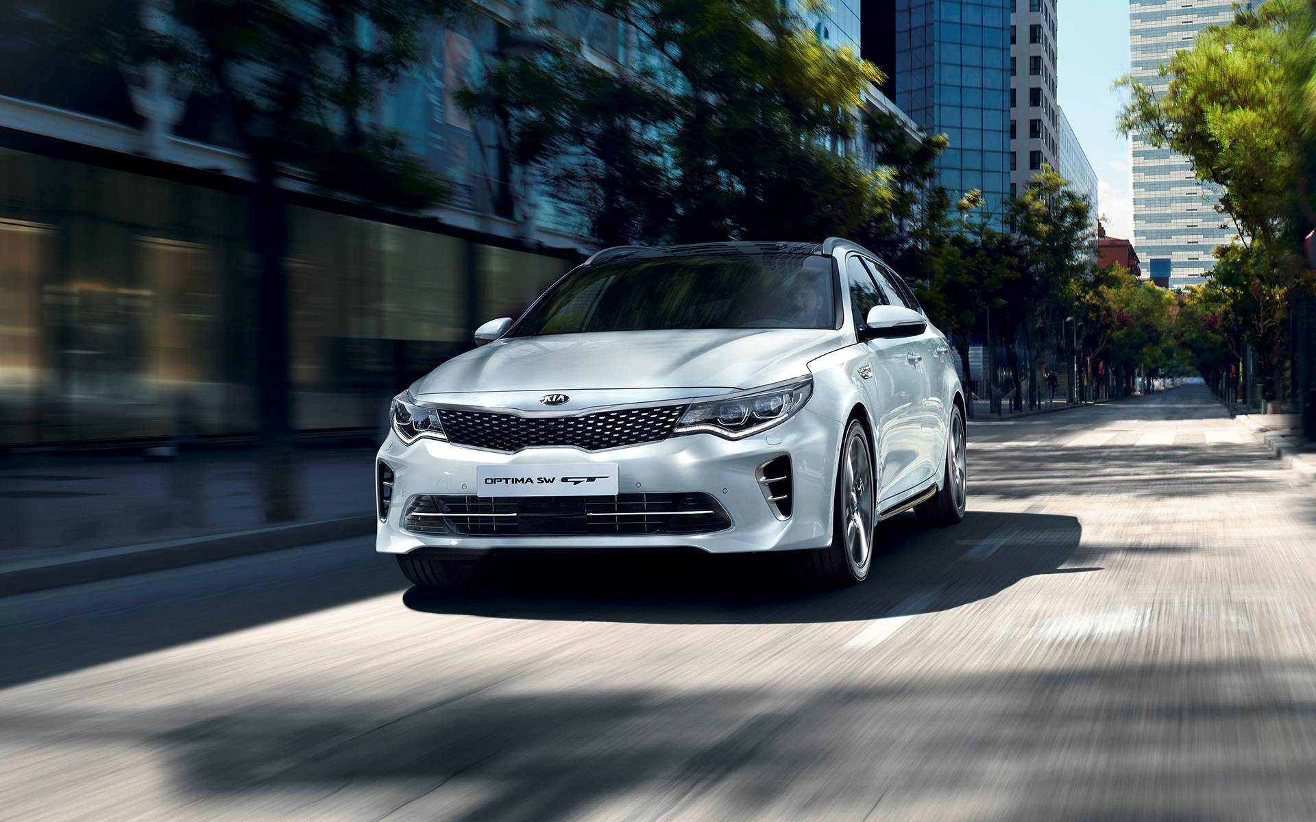 Kia Optima Sportswagon GT-Line - in evidenza
