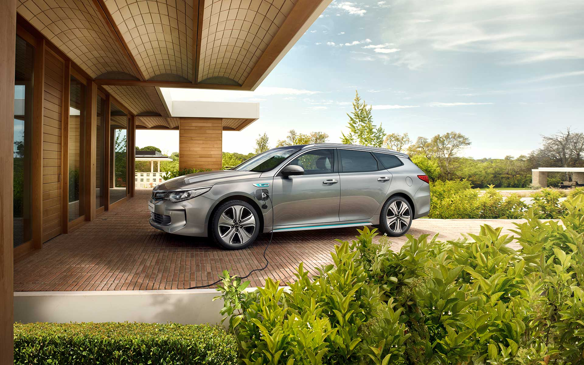 Kia Optima Sportswagon Plug-in Hybrid - esterni