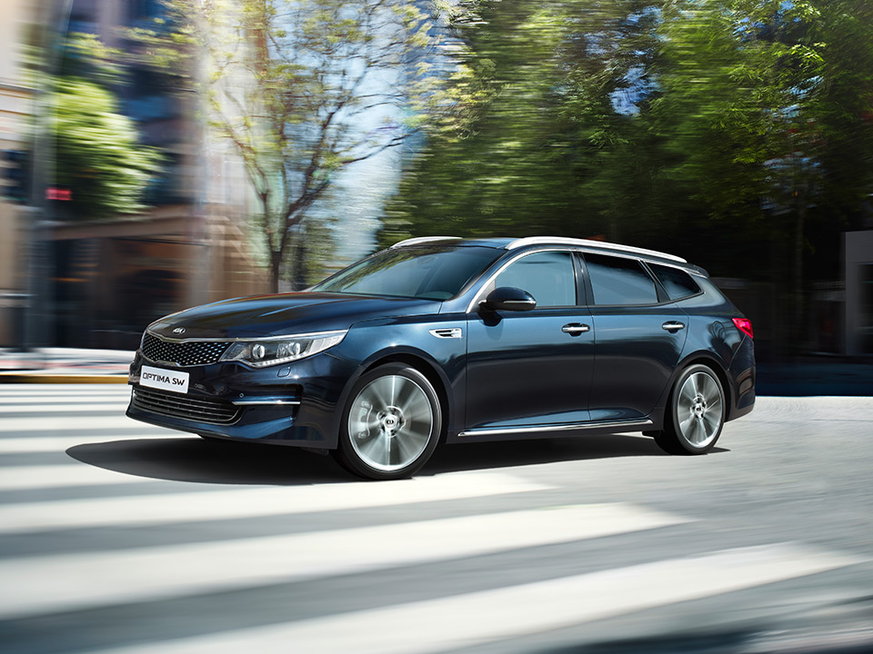 Kia Optima Sportswagon - design innovativo