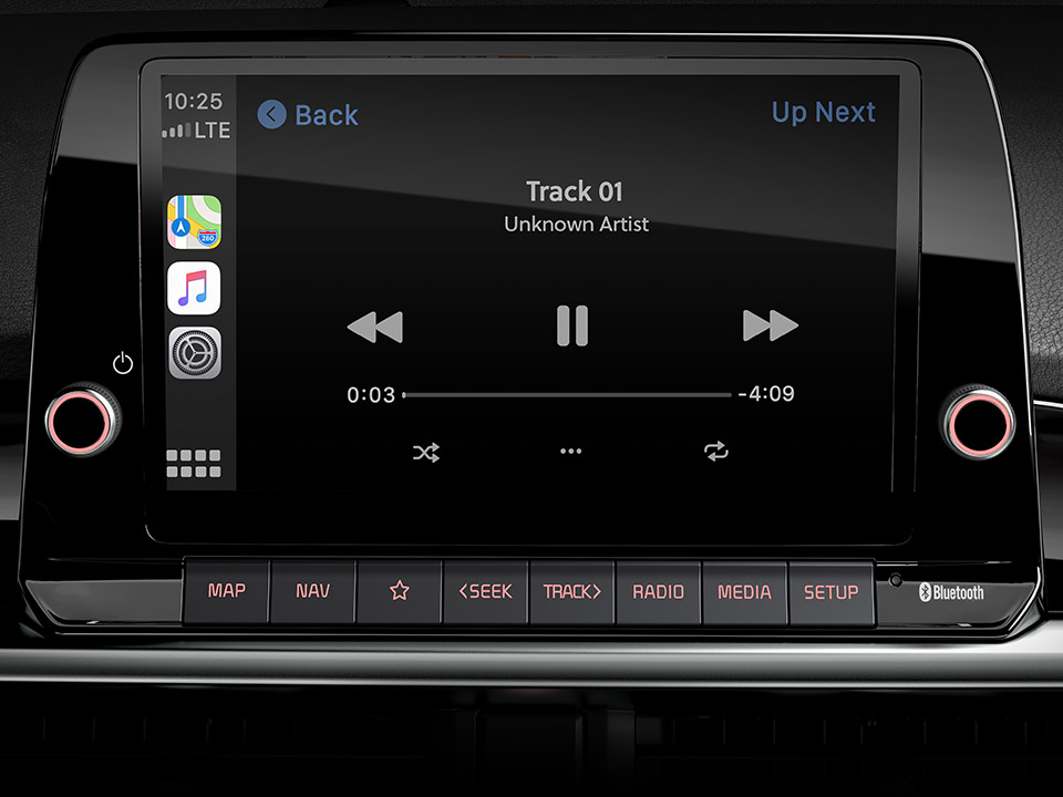 Nuova Kia Picanto - Android Auto™ e Apple CarPlay™ Wireless.