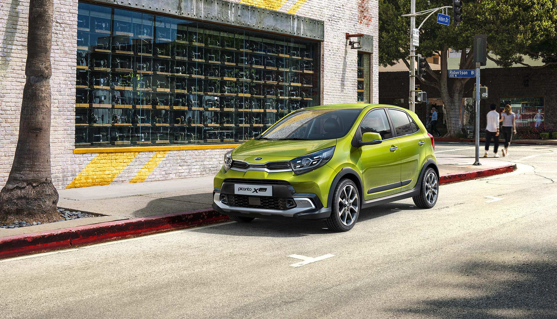 The new Kia Picanto X-Line exterior