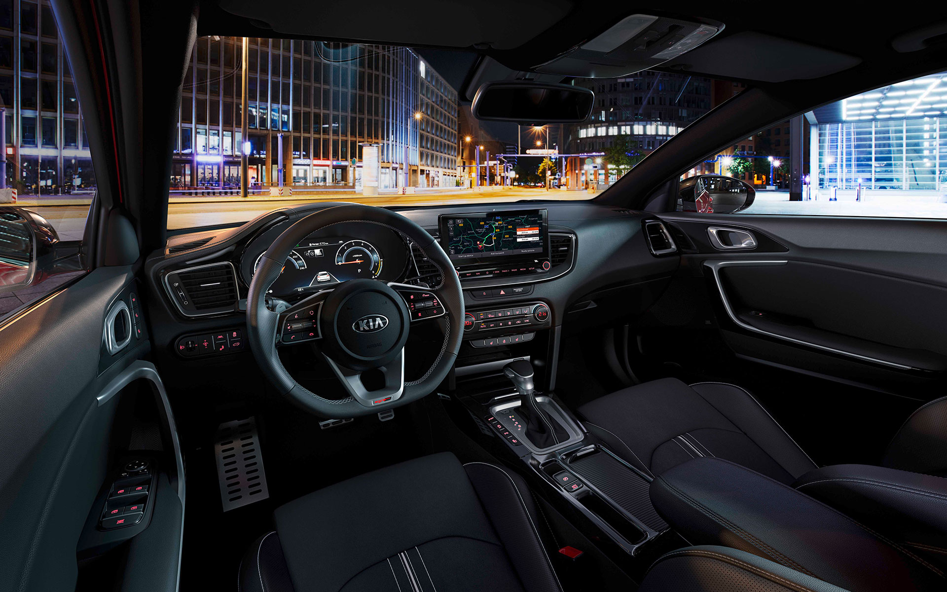 Kia ProCeed comfortable interior