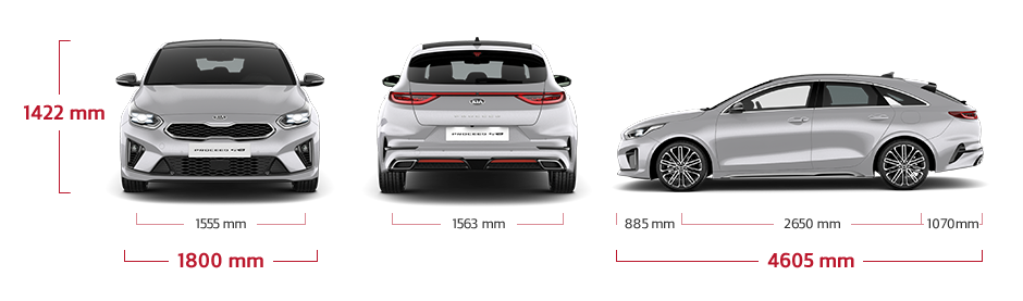Kia ProCeed specifications