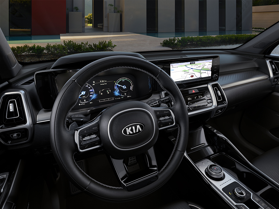 Kia Sorento Plug-In Hybrid - doppio display