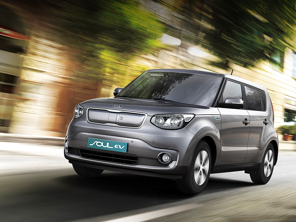 Kia Soul EV highlights