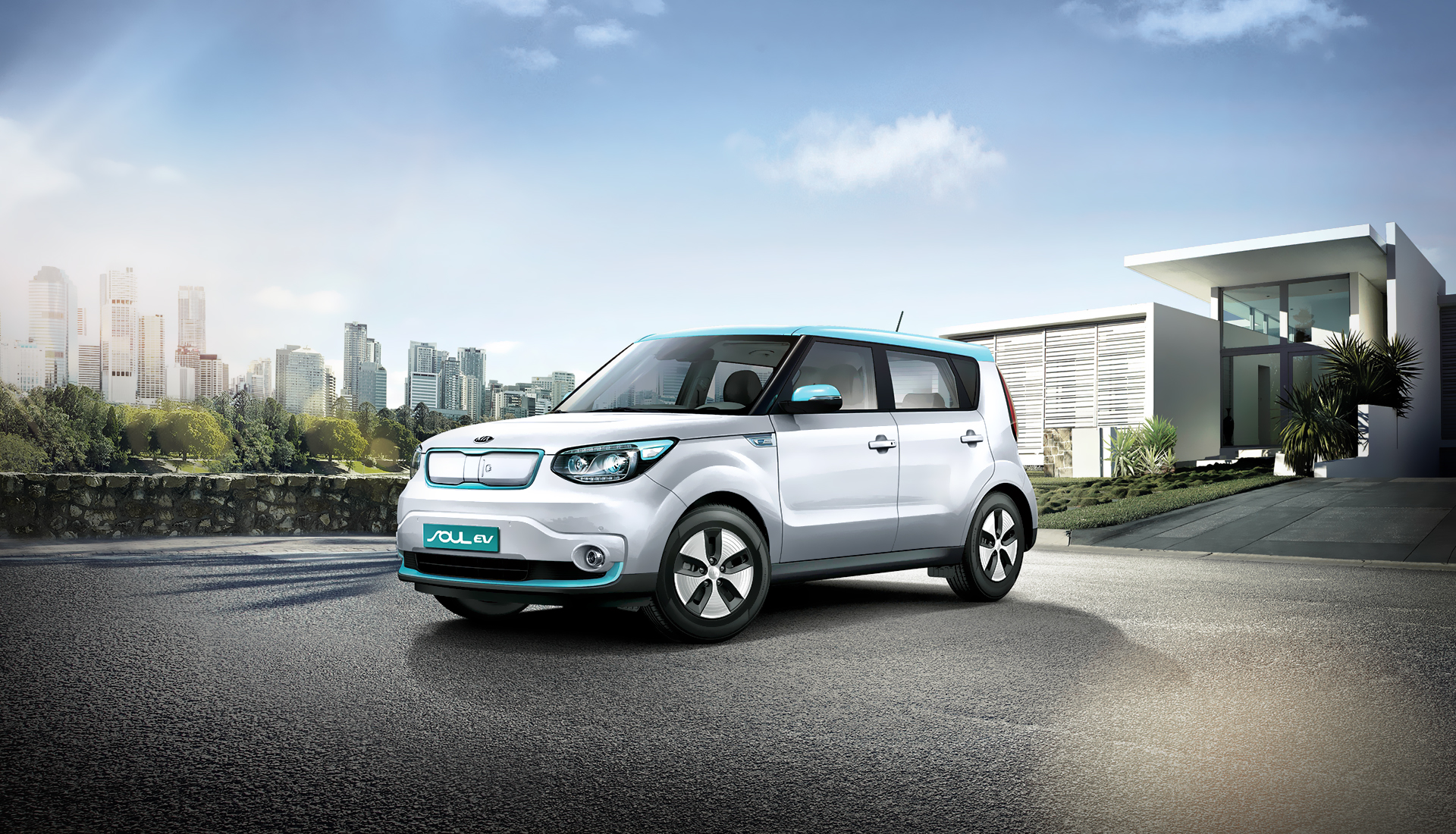 Kia Soul EV electric vehicle