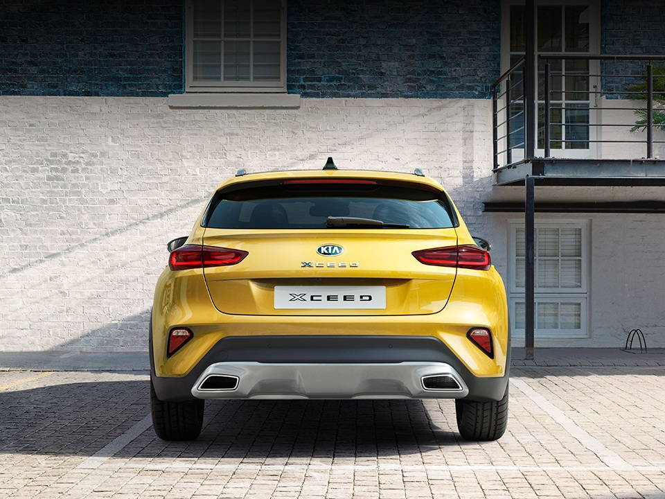 Kia XCeed crossover coupé - vista posteriore