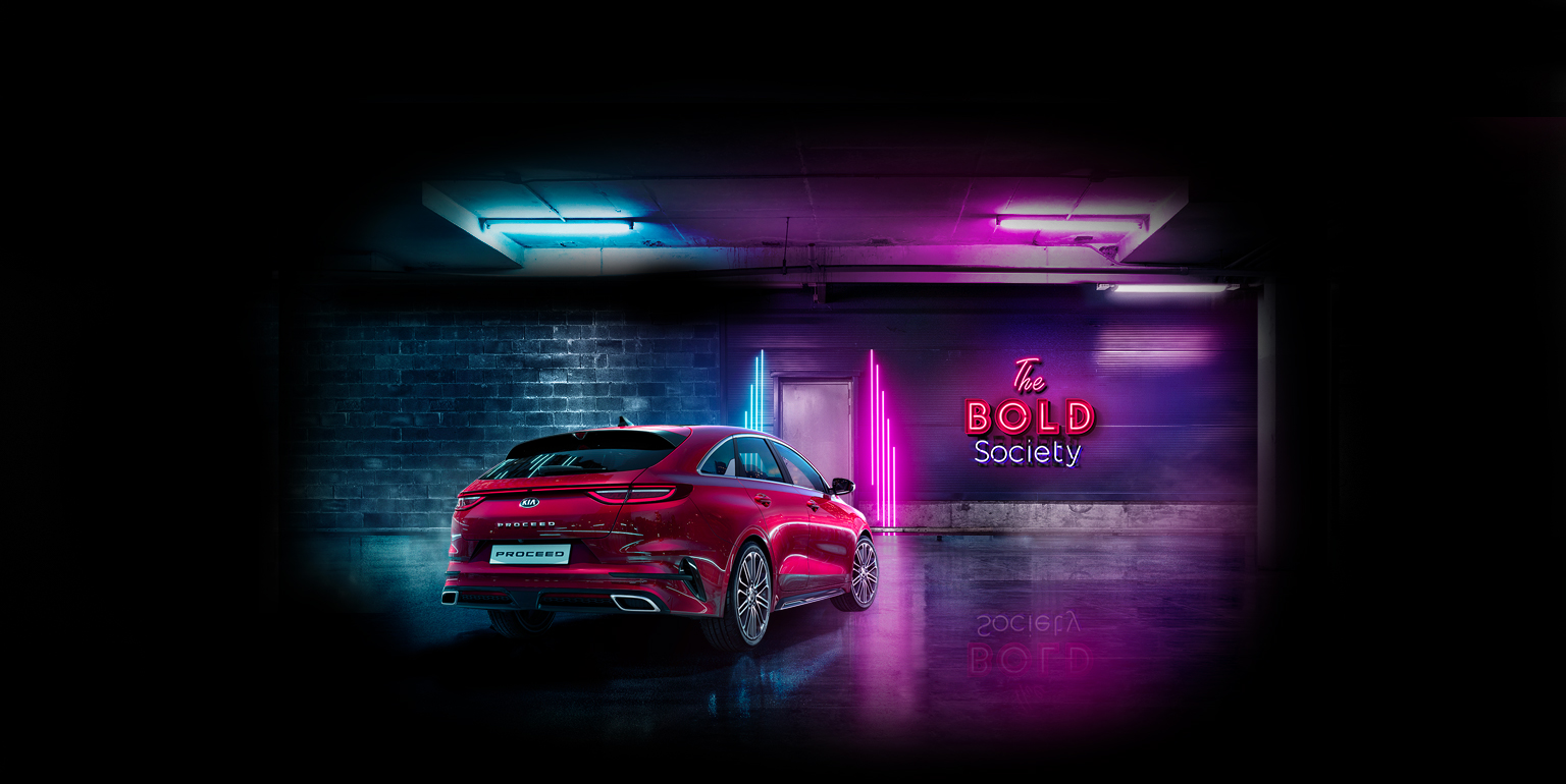 The Bold Society - New Kia ProCeed