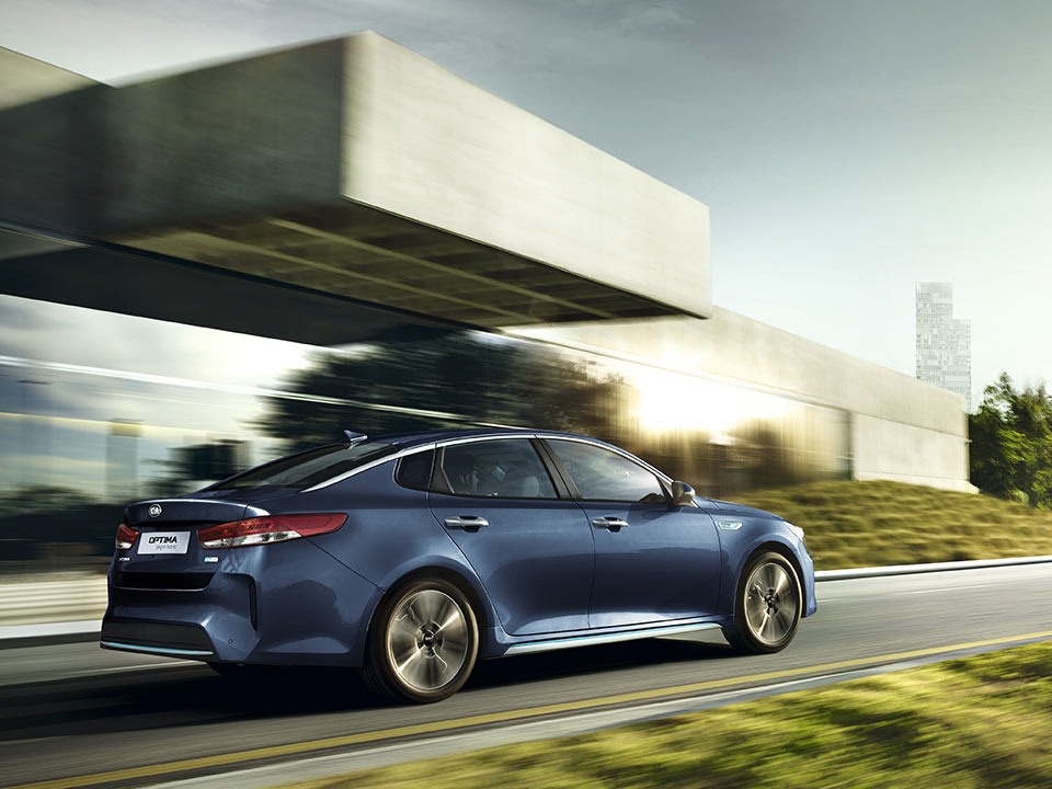 Kia Optima Plug-in Hybrid - design innovativo