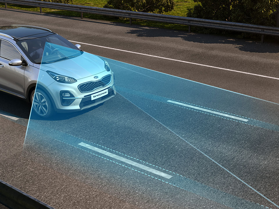 Kia Sportage - Lane keeping assist