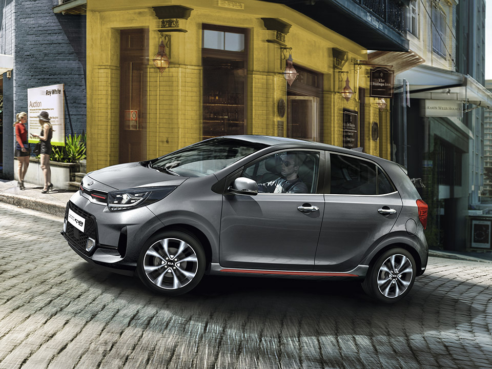 The new Kia Picanto GT Line dynamic performance and agile handling