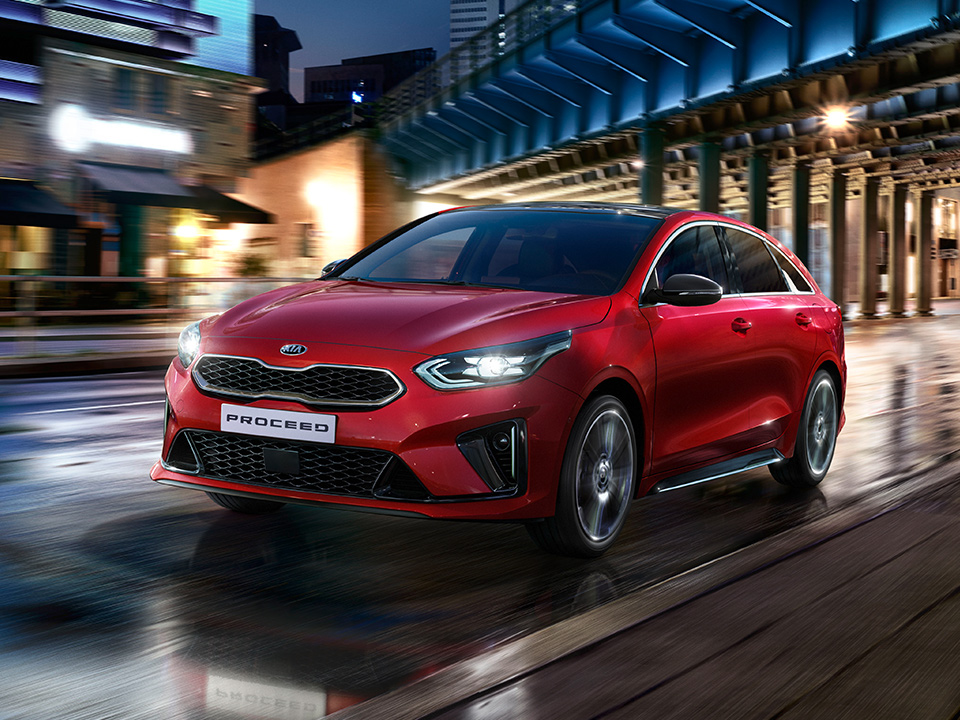 Kia ProCeed video footage